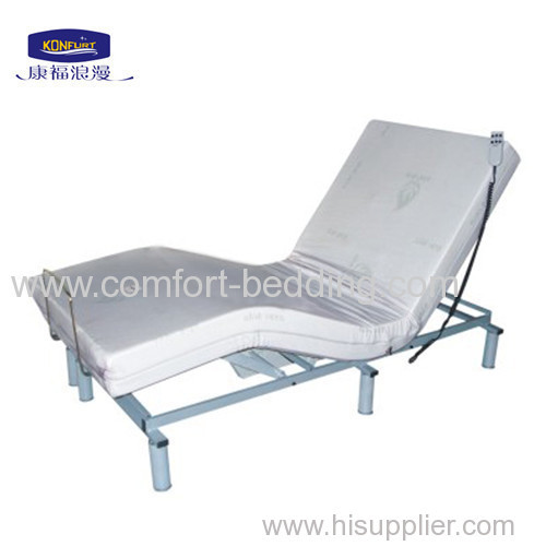 Single matal Adjustable massage bed