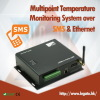 Multipoint Temperature GSM Ethernet Logger