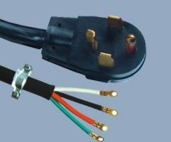 Heavy Duty Power Supply Plug Dryer Range AC Cords