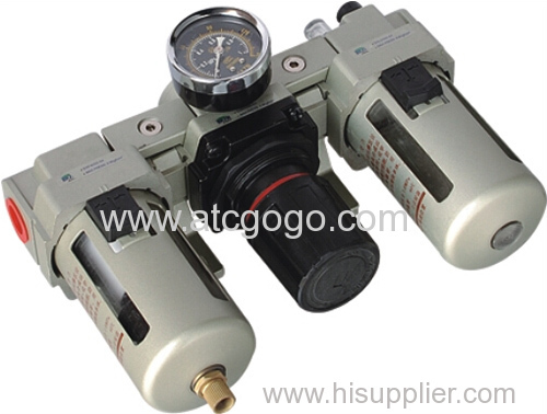 Pneumatic air FRL combination AC2000 1/4 inch Air source treatment filter pressure regulator lubricator