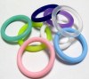 silicone rubber o ring size