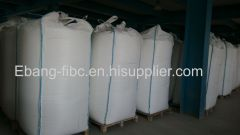 pp fibc bag with top fill spout heavy duty