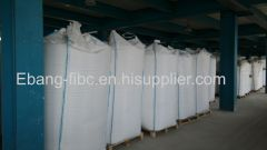 4 loop talcum powder transport fibc bag