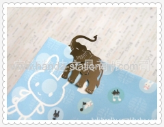 cartoon bookmark elephant shape metal bookmark wood bookmark paper clips