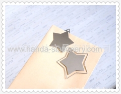creativestar shape metal bookmark