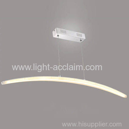 Modern minimalist long led acrylic Chandelier led lighting products compact design