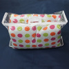 High Quality Transparent/Clear PVC/PE/Vinyl Bag with Handles Zipper for Bedsheet Blanket Bedding Packaging