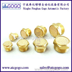 brass pneumatic plug for pneumatic air valve