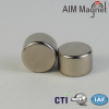 professional silver coating D20 x 3mm permannet neodymium cylinder magnet
