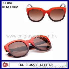 shenzhen handmade top products hot selling sunglasses custom metal logo sunglasses