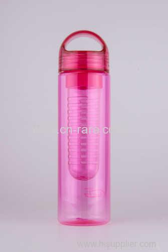 Fruit Infuser Water Bottle Plastic Clear