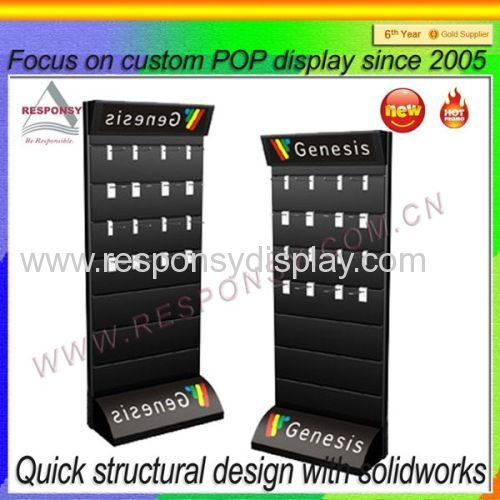 Slatwall Mobile Phone Accessory Display Floor POS Accessories Beauteous Mobile Phone Accessories Display Stand