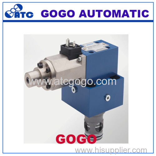 proportional cartridge restrictive valve