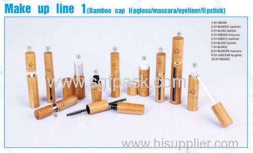 bamboo cap lipgloss mascara