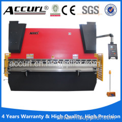 China manufacture metal hydraulic cnc bending machine