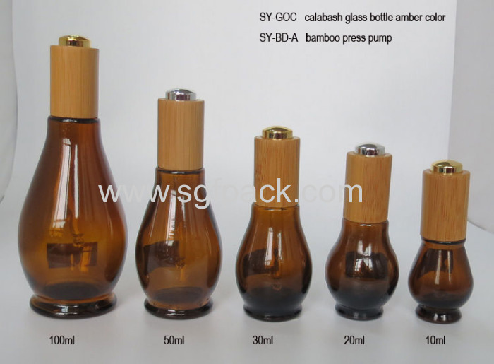 Glass Bottle For Essential Oil Brown Bottle Square Glass