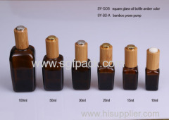 glass bottle brown essential oil bottle