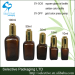 glass bottle brown essential oil bottle