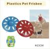 Plastic Pet Frisbee Toys