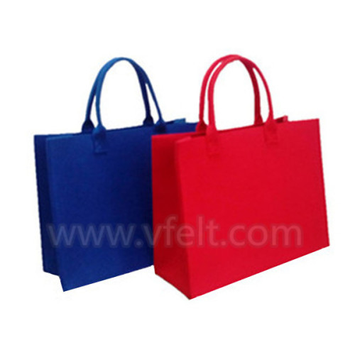 Ladies felt shopping bag