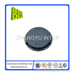 Resin wtertight manhole cover casting parts for road construction