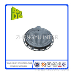 Heavy duty square set manhole cover casting parts DN400 price
