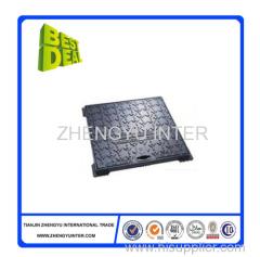 Customized coated sand manhole cover casting parts
