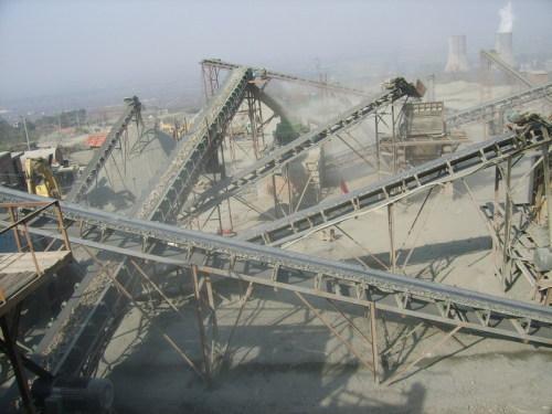 Energy Saving Hongji movable stone crushing plant