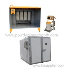 Complete Powder Coating System Spray Booth/Gun/Oven Package