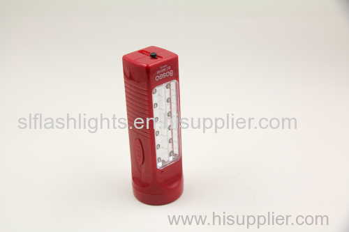 4 LED outdoor rechargeable torch