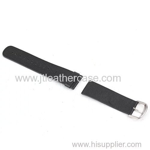 Eco friendly material PU leather belt for Apple watch