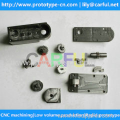 cheap custom made precision video surveillance cameras parts by cnc machining