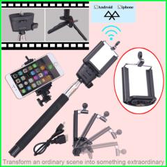 bluetooth wireless monopod selfie stick