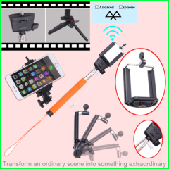 wireless bluetooth monopod selfie stick
