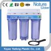 Triple pipeline Water Filter as household water purifier