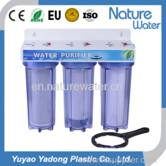 Triple Water Filter with high quality housing