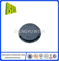 Grey Iron Manhole Cover casting parts EN124 manufacturer