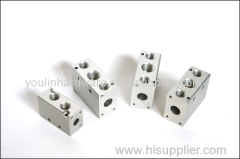 CNC aluminium machining slot