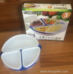 Micro Easy round lunch box for microwave