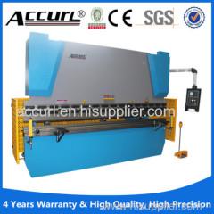 CE ISO SGS Full Automatic Electrohydraulic Servo CNC Hydraulic bending machine