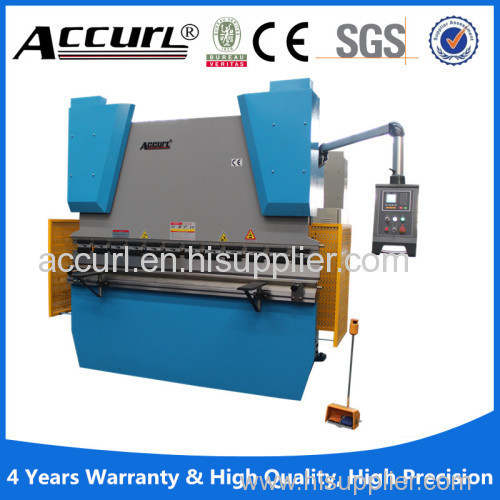 WE67K-125x3200 CNC Electric Hydraulic Synchronization Hydraulic bending machine