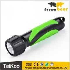 abs 1w led bright light flashlight