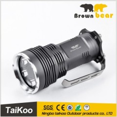 high power 6000 lumens 5*xml t6 led flashlight