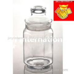 Clear Food Glass Jars