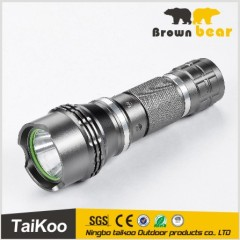 aluminum high power ultrafire t6 flashlight with 1*18650 battery