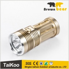 aluminum rechargeable batteries super bright light torch