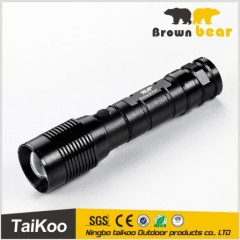 perfect new product aluminum t6 880lm flashlight led flashlight with 4*aaa dry battery