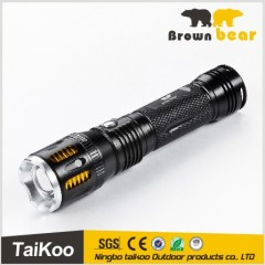 head nice design rechargeable xpe led light flashlight