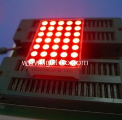 "Ultra rot 1.2"" 3mm 5 * 7 Dot Matrix LED Display zum Verschieben von message"