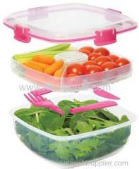 Plastic food stroage box food storage container